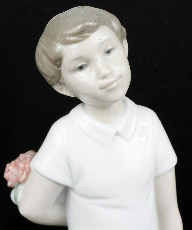 I Thought of You Figurine-NAO Porcelain Figurine