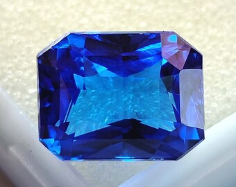 Blue Sapphire Loose Gemstone 9.70Cts Size 12x9x7 MM Cushion Shape Amazing cut Use For Jewellery Making Suppliers