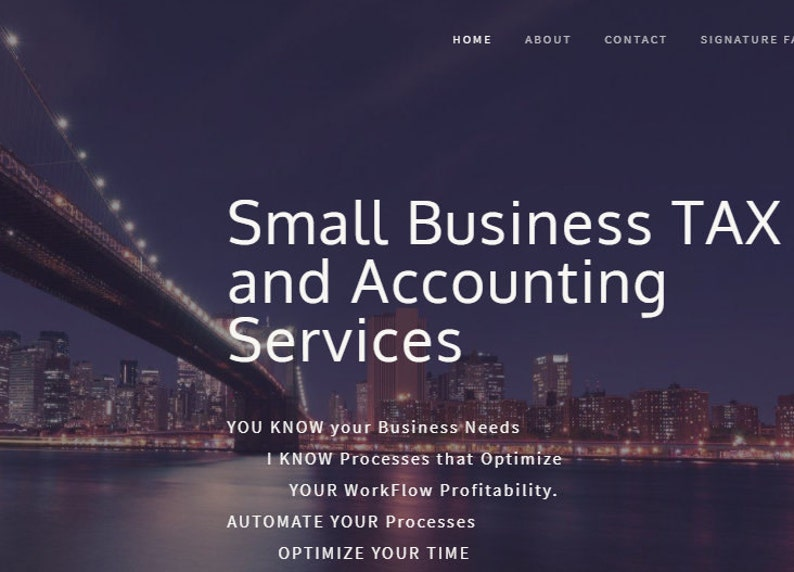 Tax & Accounting Small Business Services image 0