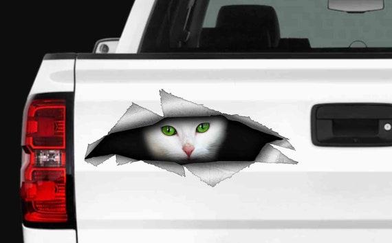 Cat Vinyle Voiture Décalque//Autocollant