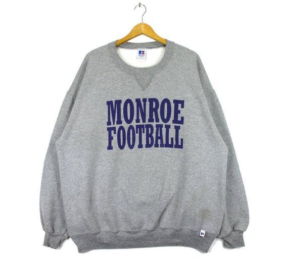 Vintage Russell Athletic Monroe Football Sweatshir