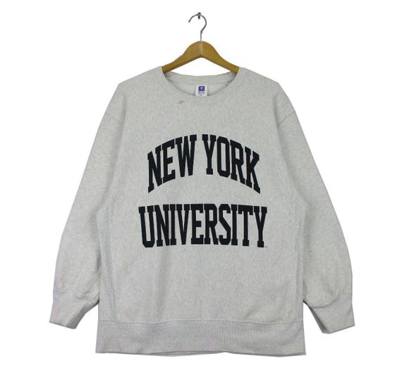 Vintage New York University Big Logo Sweatshirt