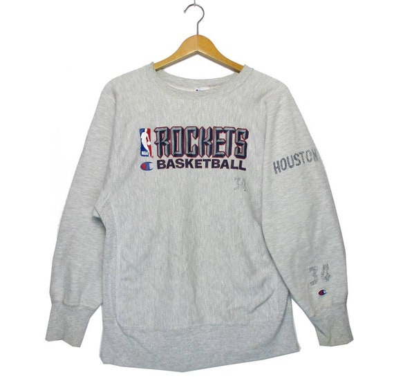 Vintage CHAMPION REVERSE WEAVE Rockets Basketball
