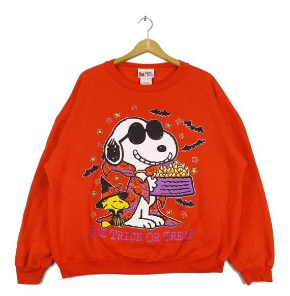 Vintage Rare!!! SNOOPY Peanut Pullover Sweatshirt