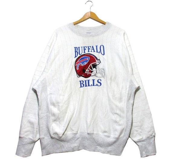Vintage BUFFALO BILLS Embroidery Pullover Crewneck