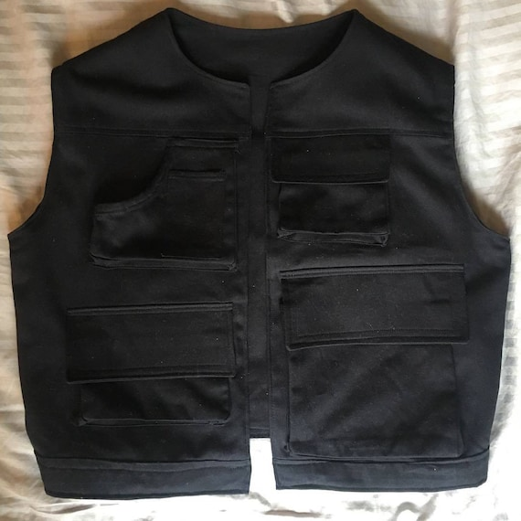 Star Wars Episode IV A New Hope Han Solo vest only cosplay costume Custom Made
