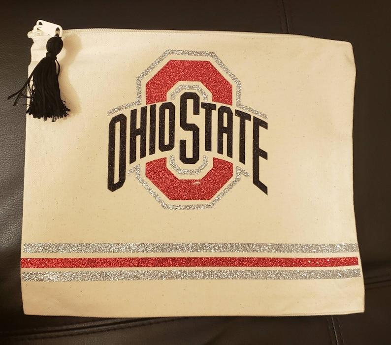 OSU Make-up bag Ohio State Univeristy