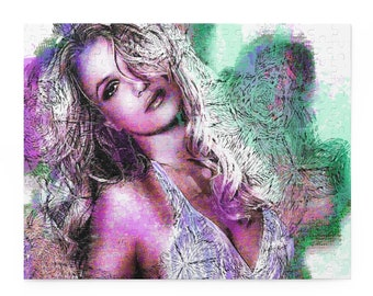 The Beauty of Britney Spears: Puzzle (120, 252, 500-Piece)