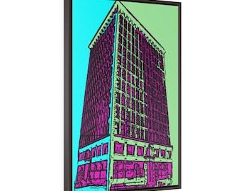 The Guaranty Building - Buffalo NY Framed Premium Gallery Wrap Canvas