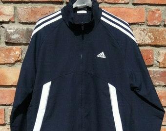 Vintage Adidas Europa Track Jacket | Size S From Brick Vintage