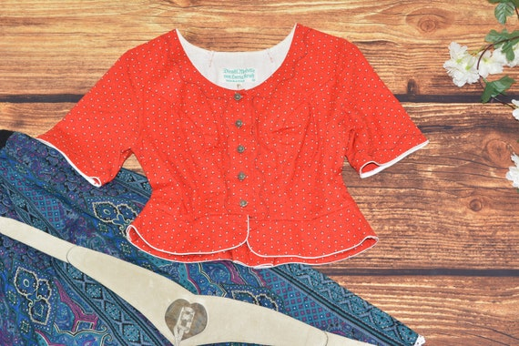 Austrian Dirndl blouse Size 44