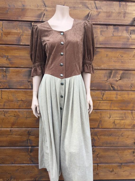 Cottagecore vintage dress Size L - image 5