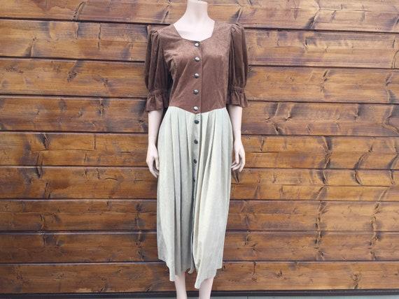 Cottagecore vintage dress Size L - image 2