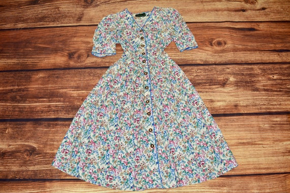 Cottagecore dress Cotton summer dress Prairie dres