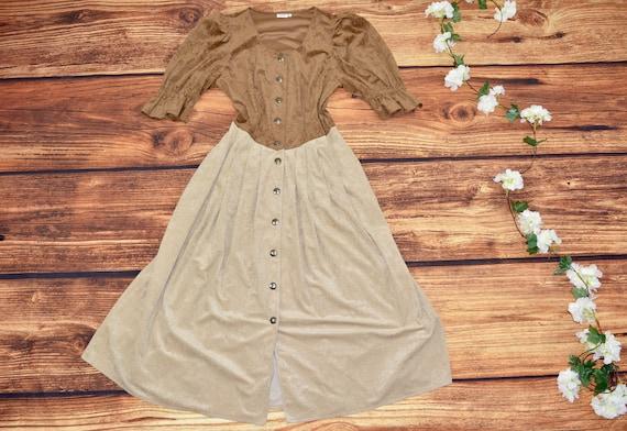 Cottagecore vintage dress Size L - image 3