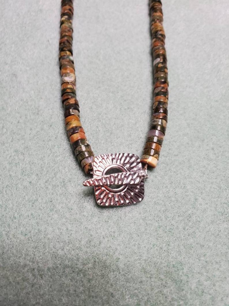 Rhyolite pendant