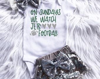 325077d2 Jets football   Etsy