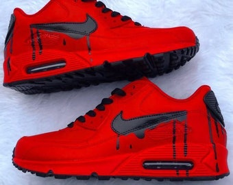 best sneakers 9bef1 4503d Red air max 90 | Etsy