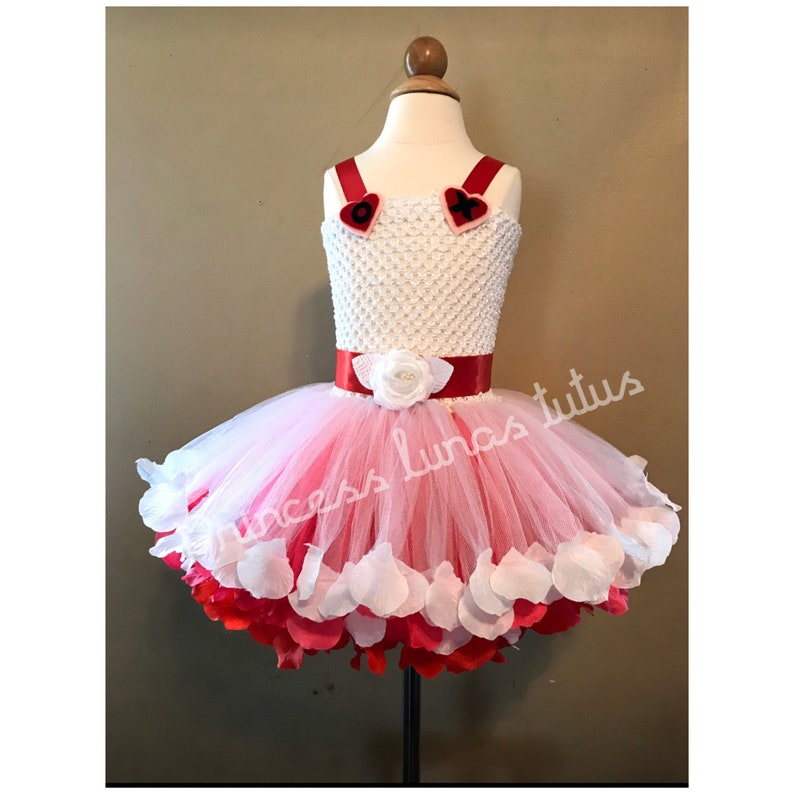 Birthday tutu outfit ribbon trim This beautiful tutu dress is great for birthday valentine and  all occasions