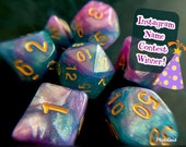 FEYWILD DREAMSCAPE DNd DIce SEt FOr DUngeons DRagons Rpg, POlyhedral DIce SEt for TAbletop Role Playing GAmes (TTrpg)