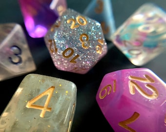 P2 Mixed DNd Dice set FOr Dungeons and Dragons RPg POlyhedral DIce