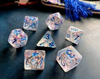 "D&D DIce SEt  ""CElestial GAte"" 