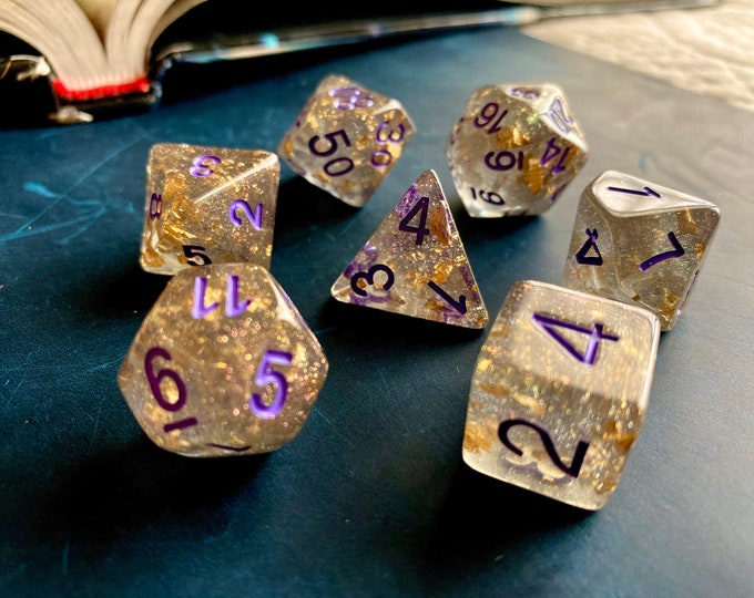 METEOR SHOwer dNd DIce SEt, POlyhedral DIce SEt FOr DUngeons & DRagons, PAthfinder, CRitical ROle