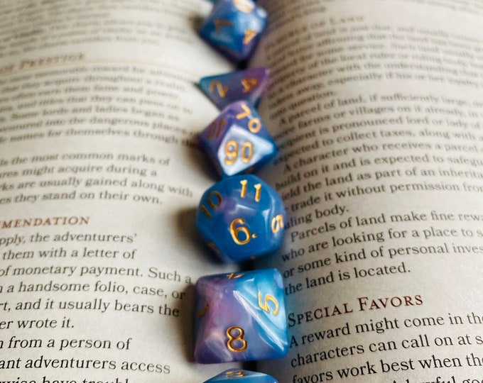 DND Dice Set DREAM | DUngeons & DRagons DIce SEt | POlyhedral DIce SET | Critical RoLe dIce