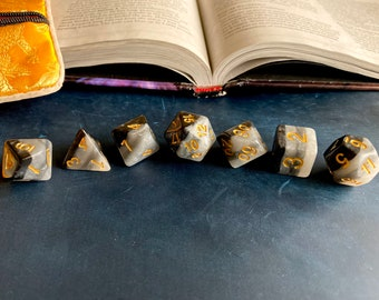 CLoak OF SHadows DNd DIce SEt, POlyhedral DIce SEt For Dungeons & DRagonS, fANS oF CRitical ROle