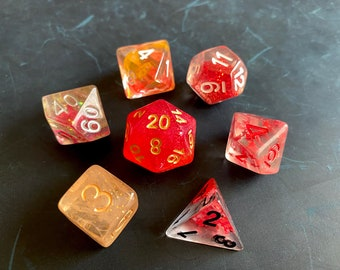 R2 Mixed DNd Dice set FOr Dungeons and Dragons RPg POlyhedral DIce