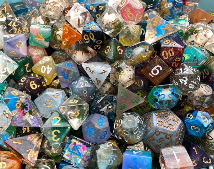 Custom dnd DICE set, Create your Own Dice Set, Choose Your Own Dice to a theme to fit your style and character