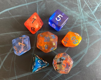 OB3 DNd DIce SEt, D20 POlyhedral dICE SEt For DUngeons And DRagons DIce