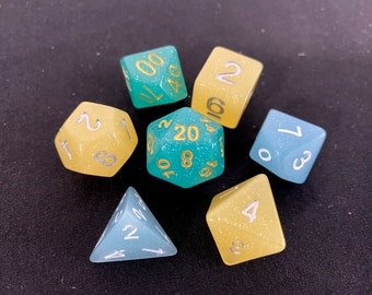 FAIRY TONIC DNd DIce SEt, D20 POlyhedral dICE SEt For DUngeons And DRagons DIce