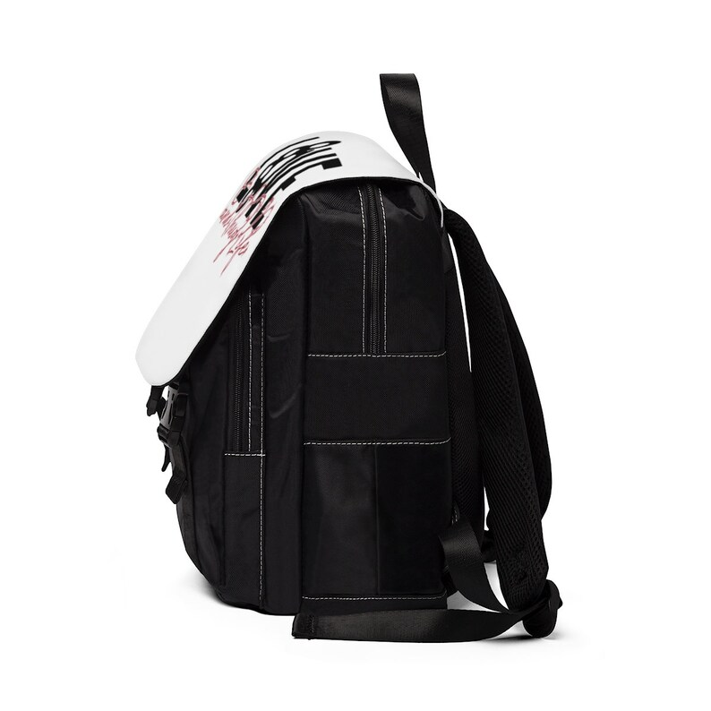 Love and Thug Life Barbed Wire Unisex Casual Shoulder Backpack