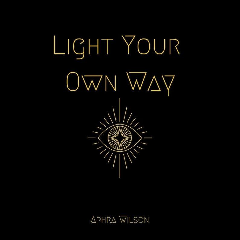 Light Your Own Way Companion book. Remove creative blocks image 0