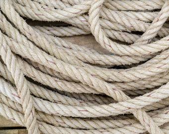 100% Hemp Rope - by the Yard