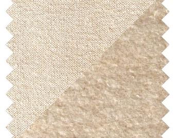 FLEECE Fabric, Hemp + Organic Cotton Fabric - by the Yard