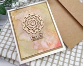 Forever Friends / Friendship / Greeting Cards / A2 / Handmade Greeting Card