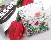 Sweety / Valentine's Day / Love  Greeting Card / A2 / Handmade Greeting Card