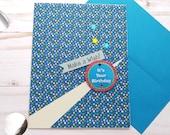 It's your Birthday, Birthday Greeting Card / A2 / Handmade Greeting Card