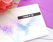 Thinking of You / Friendship / Missing You Greeting Card / A2 / Handmade Greeting Card