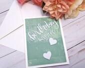 Birthday Wishes, Birthday Greeting Card / A2 / Handmade Greeting Card