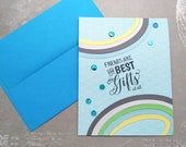 Friends are the Best Gifts of All / Friendship / Encouragement Greeting Card / A2 / Handmade Greeting Card