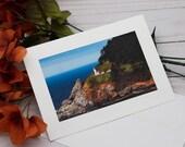 Heceta Head Lighthouse Photo card / Photo, Photography Greeting Card / A2 / Handmade Greeting Card