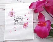 Everyone Needs a Friend Like You / Friendship / Encouragement Greeting Card / A2 / Handmade Greeting Card