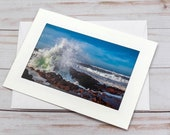 Thor's Well, Cape Perpetua / Photo, Photography Greeting Card / A2 / Handmade Greeting Card