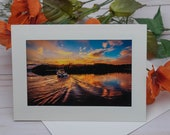 Heading Out / Photo, Photography Greeting Card / A2 / Handmade Greeting Card