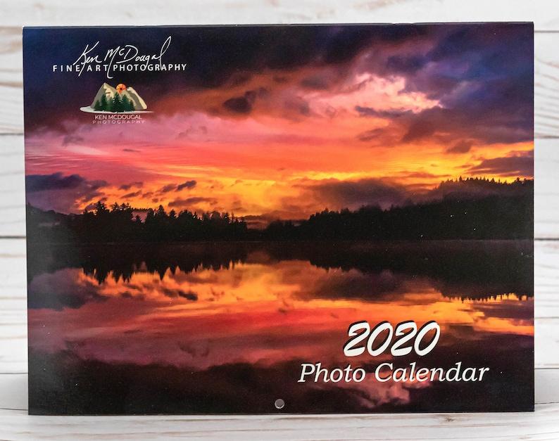 2020 Photo Calendar 12-month / 8-1/2 x 11 image 0