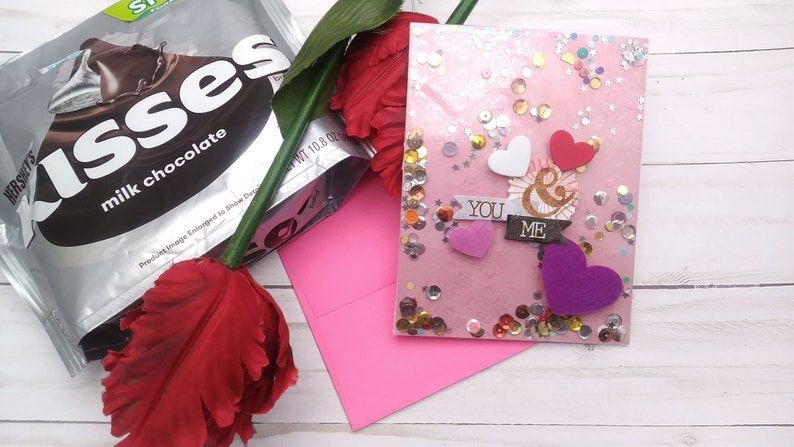 You & Me / Valentine's Day / Love  Greeting Card / A2 / image 0