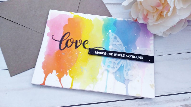 Love Makes the World Go 'Round / Encouragement Greeting image 0